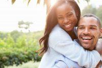 happy couple homebuyers
